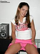 Tawnee Stone strips out of her pink skirt from Tawnee Stone